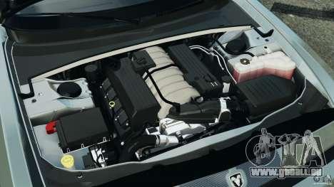 Dodge Challenger SRT8 2009 [EPM] pour GTA 4 vue de dessus
