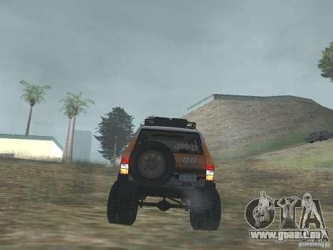 Tornalo 2209SX 4x4 pour GTA San Andreas vue arrière