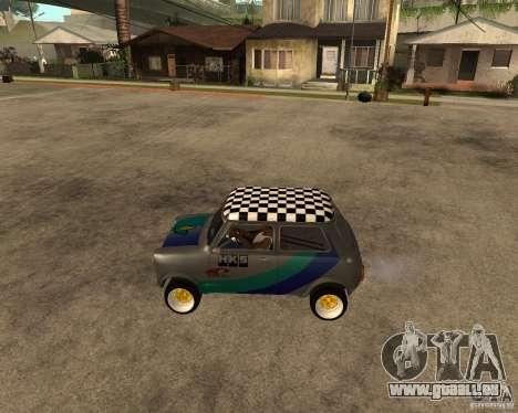 Mini Cooper pour GTA San Andreas laissé vue