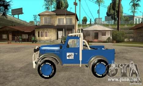Aro M461 - Offroad Tuning für GTA San Andreas linke Ansicht