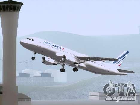 Airbus A320-211 Air France für GTA San Andreas Motor