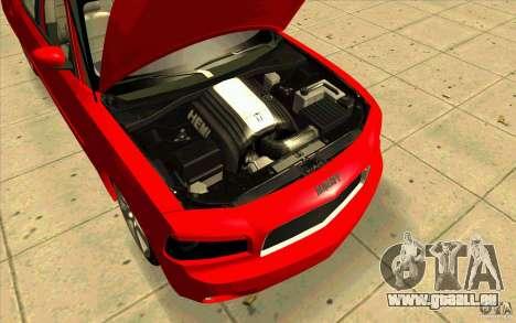 Dodge Charger RT 2010 pour GTA San Andreas vue de droite
