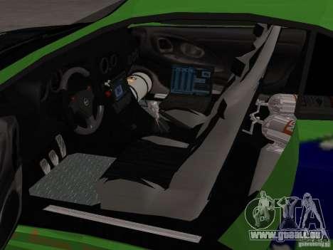 Mitsubishi Eclipse Tunable pour GTA San Andreas vue de côté