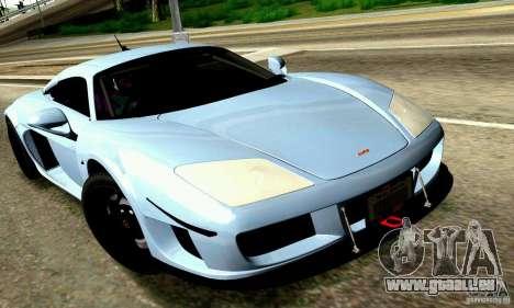 Noble M600 pour GTA San Andreas moteur