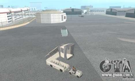 Airport Vehicle pour GTA San Andreas septième écran
