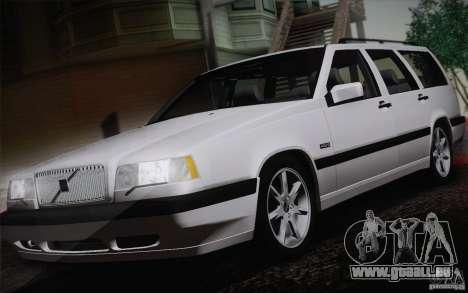 Volvo 850 Estate Turbo 1994 für GTA San Andreas zurück linke Ansicht