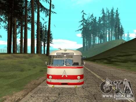 LAZ 697E touristique pour GTA San Andreas vue intérieure