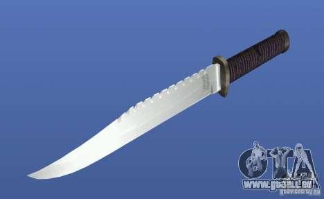 Couteau Rambo sans signature pour GTA 4