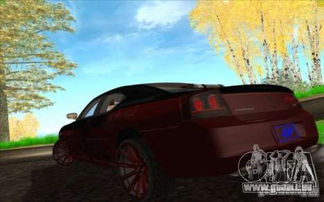 Dodge Charger SRT 8 pour GTA San Andreas salon
