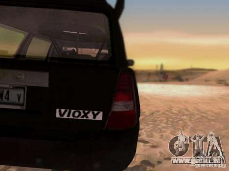 Suv Call Of Duty Modern Warfare 3 pour GTA San Andreas vue intérieure