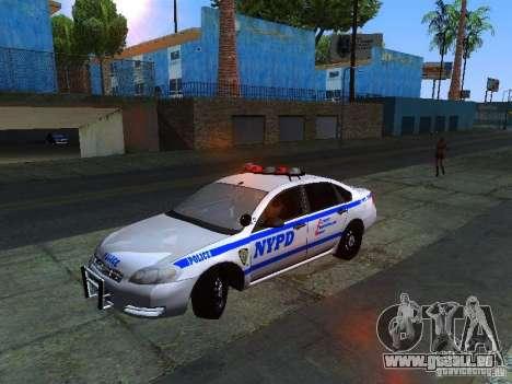 Chevrolet Impala NYPD für GTA San Andreas