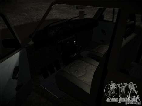 Tofas 124 Serçe für GTA San Andreas Rückansicht