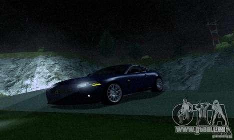 Jaguar XKRS für GTA San Andreas linke Ansicht