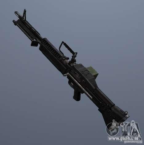 M60 für GTA San Andreas zweiten Screenshot