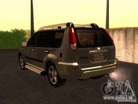 Nissan X-Trail pour GTA San Andreas laissé vue