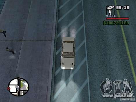 Maserati Ghibli pour GTA San Andreas vue de droite