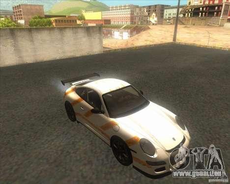 Porsche 997 GT3 RS für GTA San Andreas rechten Ansicht
