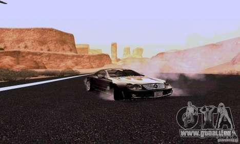 Mercedes-Benz SL65 pour GTA San Andreas vue arrière