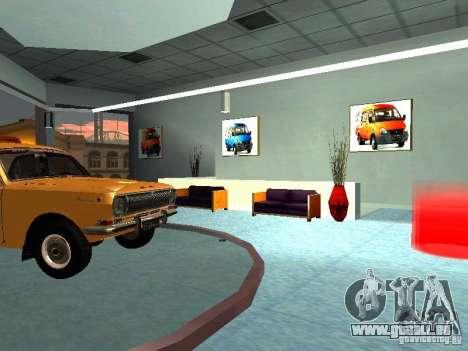GAZ für GTA San Andreas fünften Screenshot