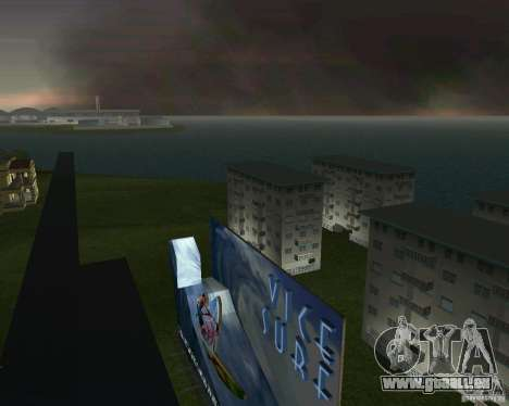 Retour à la future vallée de Hill pour le quatrième écran GTA Vice City