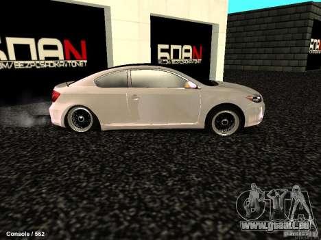 Toyota Scion für GTA San Andreas linke Ansicht