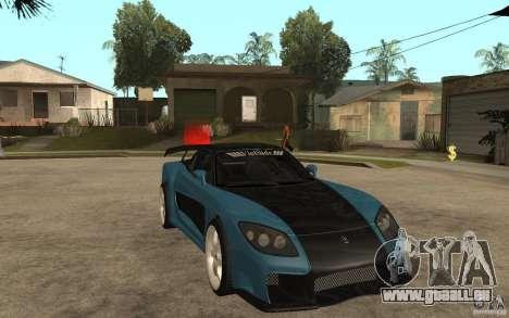 Mazda RX 7 VeilSide für GTA San Andreas zurück linke Ansicht