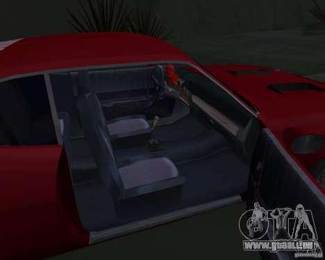 Plymouth Roadrunner für GTA San Andreas Seitenansicht