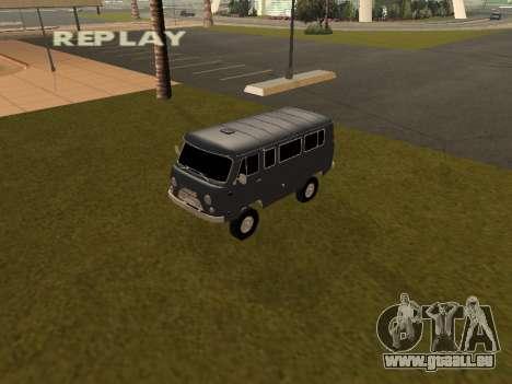 UAZ 2206 BPAN pour GTA San Andreas
