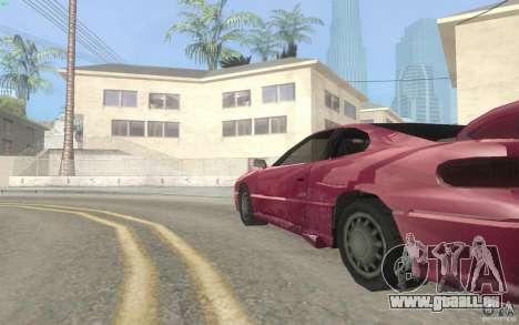 New Alpha pour GTA San Andreas vue arrière