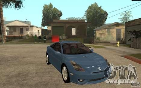 Toyota Celica SS2 für GTA San Andreas Rückansicht