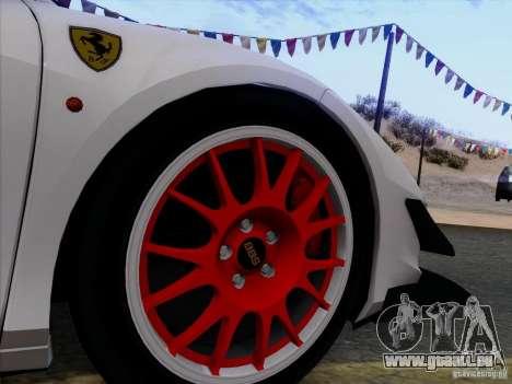 Ferrari 458 Italia Tuned pour GTA San Andreas vue de côté