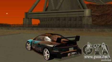 Mitsubishi Eclipse Elite für GTA San Andreas Rückansicht