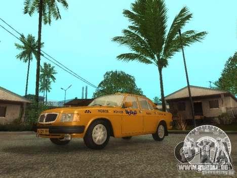 GAZ 3110 Wolga taxi für GTA San Andreas