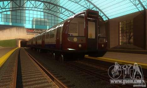 London Metro pour GTA San Andreas