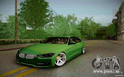 BMW 3 Series F30 Stanced 2012 pour GTA San Andreas