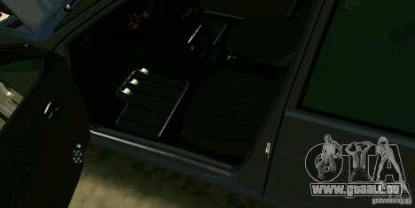 ВАЗ 2114 pour GTA San Andreas vue intérieure