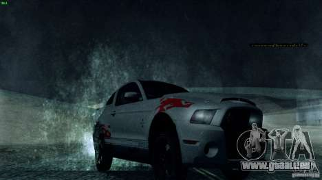 Direct R v1.0 pour GTA San Andreas deuxième écran