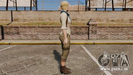 Sherry Birkin pour GTA 4 secondes d'écran