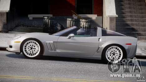 Chevrolet Corvette Grand Sport 2010 v2.0 für GTA 4 linke Ansicht