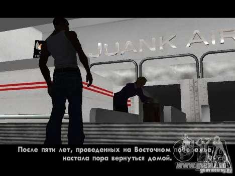 Traduction originale de 1C pour GTA San Andreas