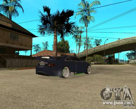 Mercedes-Benz CLS500 The GreenFairy TUNING pour GTA San Andreas vue intérieure