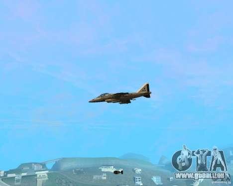 Cluster Bomber pour GTA San Andreas troisième écran