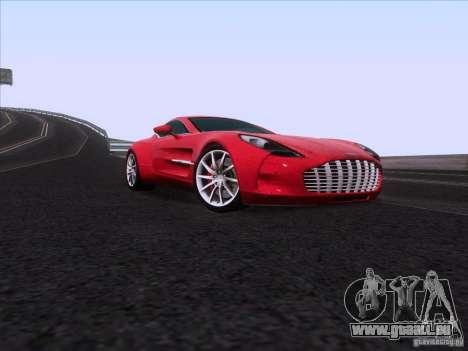 Aston Martin One-77 2010 pour GTA San Andreas vue de droite