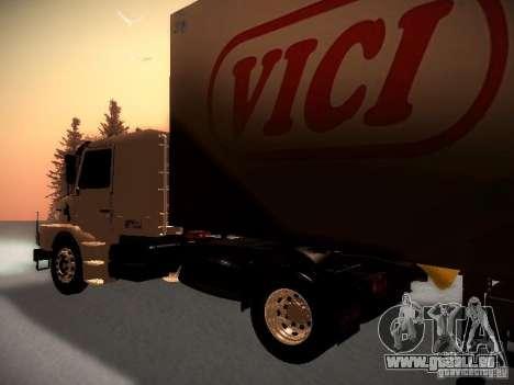 Scania T112 pour GTA San Andreas sur la vue arrière gauche