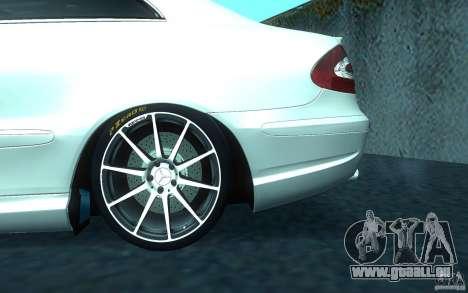 Mercedes-Benz CLK55 AMG für GTA San Andreas obere Ansicht