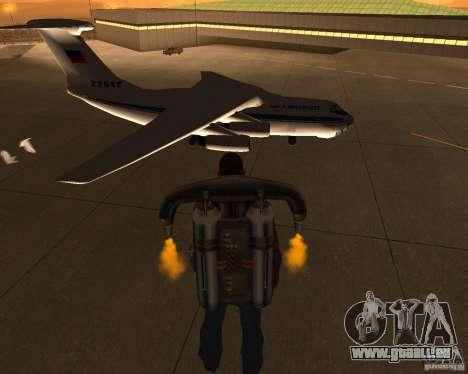 L'IL-76 pour GTA San Andreas vue de droite