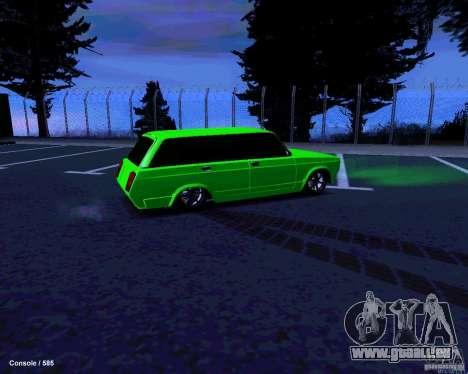 VAZ 2104 für GTA San Andreas obere Ansicht
