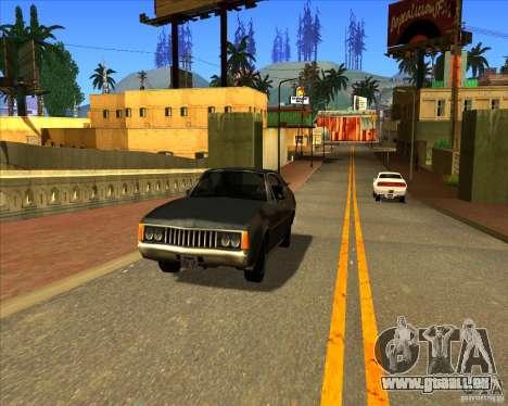 Cadre magnifique ENBSeries pour GTA San Andreas