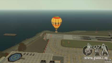 Balloon Tours original für GTA 4 linke Ansicht
