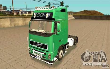 Volvo FH16 Globetrotter Officiel für GTA San Andreas
